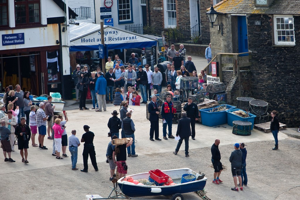 Doc Martin filming